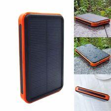 POWER BANK 100000mAh pannello solare ad alta 2 USB Caricabatterie Portatile Per Telefono