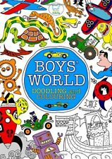 Boys' World: Doodling and Colouring (Doodles) By Various