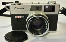 Canon Canonet QL17 GIII 35mm Rangefinder Camera 40mm f1.7 Lens Vintage Chrome