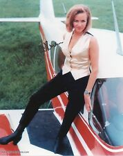 HONOR BLACKMAN Signed 10x8 Photo PUSSY GALORE In JAMES BOND 007  Proof COA