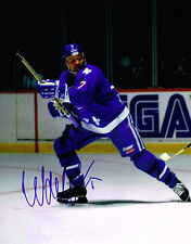 WENDEL CLARK signed QUEBEC NORDIQUES 11x14 PHOTO w/ COA