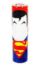 2 x 18650 Battery Sleeve PVC Heat Shrinkable Tube Wrap Superman.  uk seller  mod
