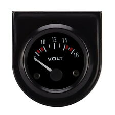 52mm Auto Car DC Digital 8-16V Voltmeter Volt Pointer Voltage Meter LED Panel