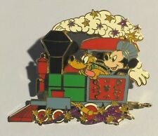 MYSTERY COLLECTION CHARACTER ENGINEER MICKEY & PLUTO ENGINE TRAIN CAR DISNEY PIN