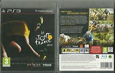 JEU PS3 PLAYSTATION 3 : LE TOUR DE FRANCE 2012 VELO CYCLISME BIKE / NEUF EMBALLE