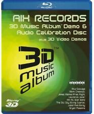 3D Music Album Blu-ray Region A BLU-RAY/3D