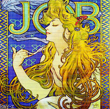 JOB rolling papers  -BLOTTER ART perforated psychedelic