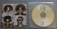 U2 UK PROMO CD TALK POP RARE POP3 CARDBOARD SLEEVE NOT VINYL PROMOTIONAL RADIO