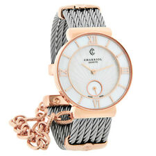 Philippe Charriol St. Tropez Ladies MOP Cable Bangle Watch ST30PI.560.010