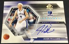JASON WILLIAMS 04-05 Upper Deck SP Authentic SIGNATURES AUTO AUTOGRAPH SP ! RARE