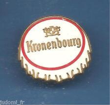 Pin's pin BIERE KRONENBOURG Capsule  BEER Signé SUCCES (ref L12)