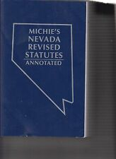 Michie's Nevada Revised Statutes Annotated 2015 Volume 2 ONLY (E1-4)