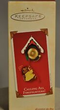 Hallmark - Calling All Firefighters! - Mouse Ringin Bell - Keepsake Ornament