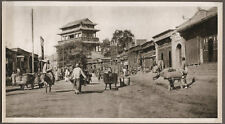 1920's CHINA GRAVURE PAGEANT OF PEKING DONALD MENNIE - GATE OF VICTORY