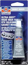 Permatex Ultra Grey RTV Silicon Silicone Gasket Maker Sealant 14g