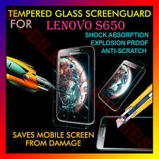 ACM-TEMPERED GLASS SCREENGUARD for LENOVO S650 MOBILE ANTI-SCRATCH PROTECTOR