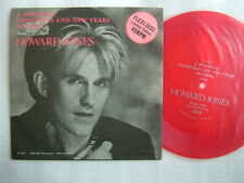 PROMO ONLY RED FLEXI / HOWARD JONES CHRISTMAS NEW YEARS MESSAGE / 7INCH PS
