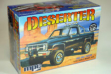 MPC 1/25 1984 GMC Pickup Deserter PLASTIC MODEL KIT MOLDED IN BLACK MPC848