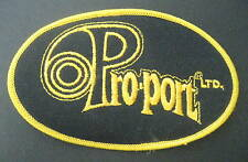 """PRO PORT~ SHOT GUN PORTING EMBROIDERED SEW ON PATCH HUNTING GUNS 5"""" x 3"""""""
