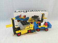 Lego Legoland Construction - 652 Fork Lift Truck and Trailer