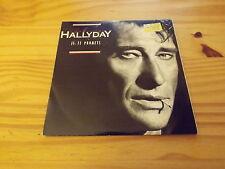 JOHNNY HALLYDAY - JE TE PROMETS - DISQUE VINYLE 45T
