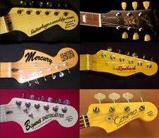 50% off Guitar headstock customized decal self adhesive EasySticker