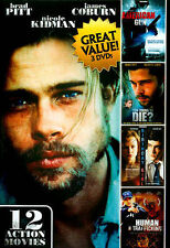 12 Action Movies (DVD, 2013, 3-Disc Set)