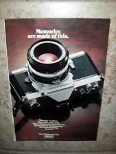 Old original advert. of 70s - Nikon - The Nikkormat FT2