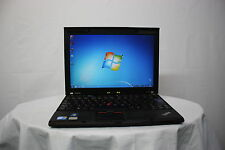 Laptop Lenovo Thinkpad X201s i7 2.13GHz 4GB 250GB Windows 7 WARRANTY GRADE B