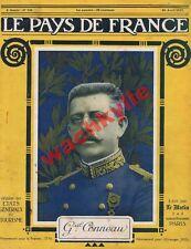 Le pays de France n°132 du 26/04/1917 Général Conneau