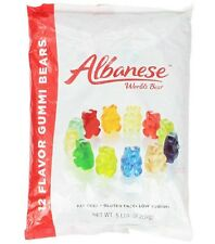 SweetGourmet Albanese 12 Flavor Gummi Bears, 5 LB FREE SHIPPING!