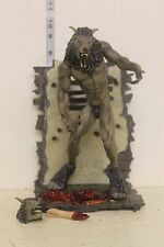 Sota/Now Playing Dog Soldiers Werewolf Figure gray LOOSE