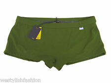 FENDI costume da mare uomo boxer verde militare men army green sea shorts 48 M