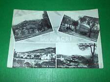 Cartolina Saluti da Acri ( Cosenza ) - Vedute diverse 1955 ca