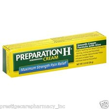 Preparation H Hemorrhoidal Cream Maximum Strength with Aloe - 0.9 OZ (26g)