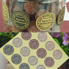 """Letter """"Special Selected"""" Paper Seal Sticker Label Cupcake Birthday Paper Craft"""