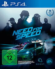 Need for SpeedSony Playstation PS4 Deutsch  Neu OVP