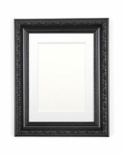 Ornate Shabby Chic Picture frame photo frame poster frame with bespoke Mount