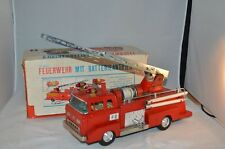 Bandai #IF-821 Ford tinplate Fire Engine with box all original with sirene Japan
