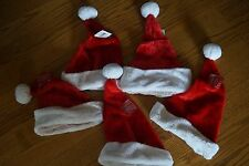 Lot of 5 New Santa Hats Size L From Michaels Arts and Crafts NWT