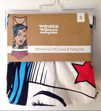 WONDER WOMAN 2 PIECE CAMI & PANTY SET SIZE SMALL