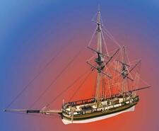 "Intricate Wooden Model Ship Kit by Caldercraft: ""HM Mortar Vessel Convulsion"""