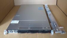 Supermicro SuperServer 5017GR-TF Intel E5-1620v2 Quad 3.7GHz 32GB 1U Rack Server