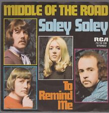 """7"""" Middle Of The Road Soley Soley / To Remind Me 70`s RCA Records"""