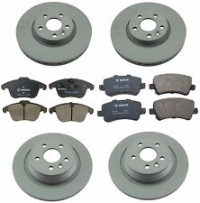 Land Rover Range Rover Evoque 2012-2014 Front & Rear Brake KIT Rotors and Pads