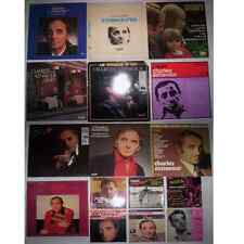 LOT DISQUES 33T - 45T SPECIAL CHARLES AZNAVOUR