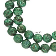 """15.75"""" Natural Green Chrysocolla Round Beads 6mm Grade A #85112"""