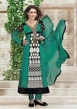 INDIAN BOLLYWOOD DESIGNER Anarkali SALWAR KAMEEZ ETHNIC WEAR SUIT