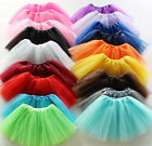 Women Adult 3 Layer Tulle Dancewear Tutu Ballet Pettiskirt Fancy Party Skirt NEW