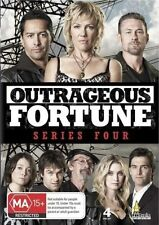 OUTRAGEOUS FORTUNE - SERIES 4 (4 DVD SET) BRAND NEW!!! SEALED!!!